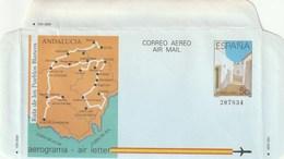 1988 España. Aerograma (Edif.213)**  1v Ruta Pueblos Blancos - Enteros Postales