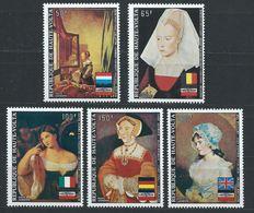 Haute-Volta YT PA 145-149 XX / MNH Vermeer Weyden Titien Art Peinture - Upper Volta (1958-1984)