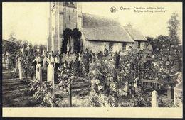 OEREN - Cimetière Militaire - Belgian Military Cemetery - Circulé Ss Enveloppe - Circulated U Cover - Gelaufen U. Umschl - Alveringem