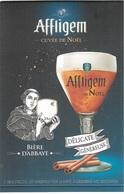 Bistrot Et Alimentation - Présentoir De Bière - Affligem - Cuvée De Noel - Voir Scan - Recto, Verso - - Autres Collections