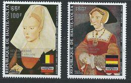 Haute-Volta YT PA 162-163 XX / MNH Holbein Art Peinture - Haute-Volta (1958-1984)