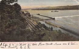PITTSBURG PENNSYLVANIA~DAVIS ISLAND DAM IN OHIO RIVER 1907 POSTCARD 35507 - Pittsburgh