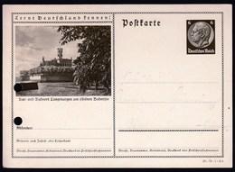 Germany Deutsches Reich / Postkarte Postal Stationery / Kur Und Badeort Langenargen Am Schonen Bodensee - Duitsland