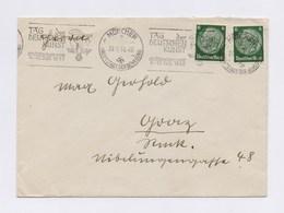 DR MWSt - MÜNCHEN, Tag Der Deutschen Kunst 1938 Auf Umschlag - Allemagne