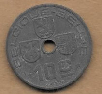 10 Centimes Léopold III 1941 FR-FL - 02. 10 Centimes