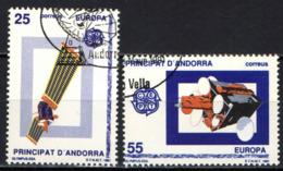 ANDORRA SPAGNOLA - 1991 - EUROPA: EUROPA SPAZIALE - USATI - Andorra Spagnola