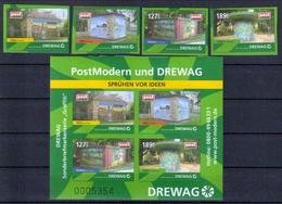 Deutschland PostModern 'Graffiti-Wettbewerk Der DREWAG' / Germany 'DREWAG Graffiti Contest' **/MNH 2009 - Künste