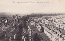 Les Troupes Polonaises En France - La Messe Au Camp - Autres