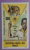 """MALI ANNEE 1980 YT 427 NEUF(**)""""SALUT SCOUT"""" - Mali (1959-...)"""