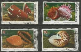 Thailand - 1989 Seashells Used   Sc 1305-8 - Thailand