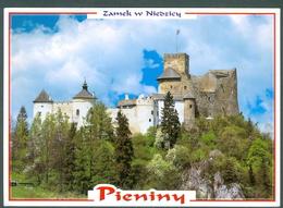 CASTLE  OF PIENINY - POLAND - NIEDZICA - CIRCULATED - Castles
