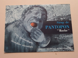 "Sirop De PANTOPON "" Roche "" ( +/- 13 X 18 Cm. ) Buvard ( Voir Photo ) ! - Drogisterij En Apotheek"