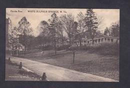 USA West Virginia Florida Row. White Sulphur Springs ( Woodson & Jones) - Etats-Unis