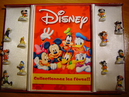COFFRET / SERIE COMPLETE / DISNEY / 12 FEVES - Disney