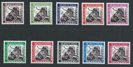 Haute-Volta YT Service 1-10 XX / MNH Elephant - Upper Volta (1958-1984)
