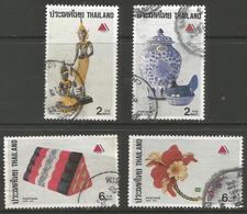 Thailand - 1989 Arts & Crafts Used   Sc 1309-12 - Thailand