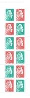 """France, Marianne, """"l'engagée"""", 2018, MNH VF  Booklet Of 14 Gummed Stamps - France"""
