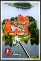 CASTLE  OF TRAKAI  - LITHUANIA - CIRCULATED - Castles