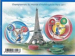 CHAMPIONNAT DU MONDE HALTEROPHILIE - Blocs & Feuillets