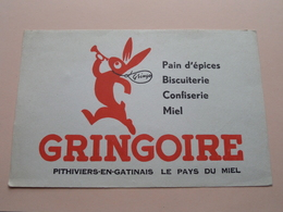 GRINGOIRE ( +/- 13,5 X 21 Cm. ) Buvard ( Voir Photo ) ! - Blotters