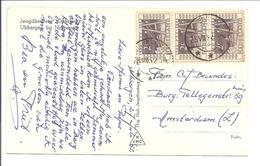 Honderd Jaar Postzegels.HC588 Verticale Strip Van 3! AK Ubbergen - Periode 1949-1980 (Juliana)