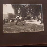 2 Photos Authentiques Guerre 14-18 Aviation Avion Allemand Et Français à Identifier - War, Military