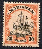 Allemagne, Colonie Allemande, Mariannes, Marianen, N°12 Oblitéré, Qualité Très Beau - Colonie: Mariannes