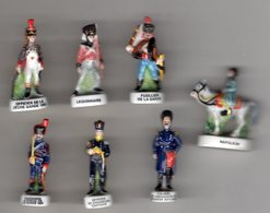 Série 7/10 Fèves Brillantes NAPOLEON Soldats De Plomb - Nordia 2004 - History
