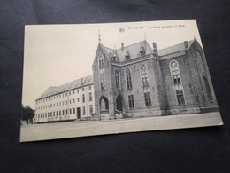 TERMONDE - PALAIS DE JUSTICE ET DEPOT - 24.1.1915 - FELDPOST - 8. KOMP. 2. LANDSTURM-INF-BATL. CHEMNITZ - Dendermonde