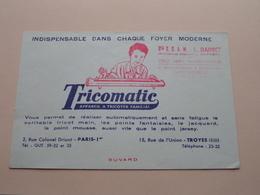 TRICOMATIC ( +/- 13 X 20 Cm. ) Buvard ( Voir Photo ) Voir Stamp ! - Buvards, Protège-cahiers Illustrés