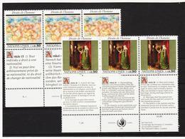 SRO53 VEREINTE NATIONEN UNO GENF 1991 Michl 208/09  ** Postfrisch - Genf - Büro Der Vereinten Nationen
