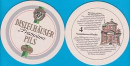 Distelhäuser Brauerei Ernst Bauer Tauberbischofsheim -Distelhausen ( Bd 2103 ) - Bierdeckel