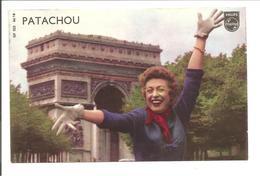 PATACHOU-Arc De Triomph-Philips. Photo !! - Chanteurs & Musiciens