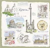 CAPITALES EUROPEENNES ROME - Blocs & Feuillets