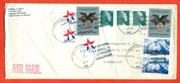 United States 2002. The Envelopes Passed Mail. Airmail. - Covers