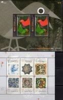 Azulejo 1999 Madeira Block 19+Acores Bl.25 ** 14€ EUROPA 2003 Plakat-Kunst Hoja Blocs Art Ss Sheets M/s Bf Portugal - Blocks & Kleinbögen