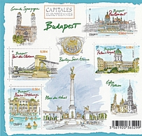 CAPITALES EUROPEENNES BUDAPEST - Blocs & Feuillets