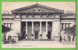 BARCELONA / MUSEO MARTORELL .... Carte écrite En 1913 - Barcelona