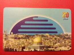 PALESTINE Chip - The City Of Jerusalem - First Issue 20 NIS (FA0718) - Palestine