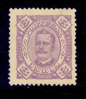 ! ! Portuguese India - 1895 D. Carlos 8 Tg - Af. 146 - MH - India Portoghese