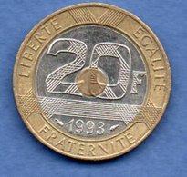 20 Francs 1993--  état  TTB+ - Francia