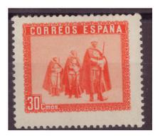 SPAGNA - 1938 - IN ONORE DELL'ESERCITO E DELLA MARINA. UN VALORE CON  PIEGA. - MNH** - 1931-Oggi: 2. Rep. - ... Juan Carlos I
