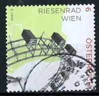 Autriche - Österreich - Austria 2015 Y&T N°3009 - Michel N°3183 (o) - 6c Grande Roue De Vienne - 1945-.... 2ème République