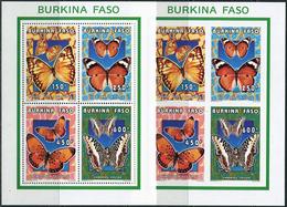 Burkina Faso 1996. Michel #1410/13 - 2 Klb-A+B MNH/Luxe. Butterflies. (Ts02) - Burkina Faso (1984-...)
