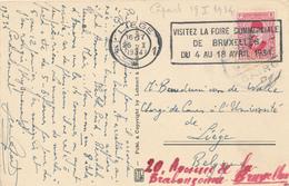 774/27 -  EGYPTOLOGIE BELGIQUE - Carte- Vue Egypte TP Fouad CAIRO 1934 - Ecrite Et Signée Par Jean Capart - Archéologie