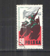 Polonia PO 1964 20 Ann.Insurr.Warsavia Scott.1256+See Scan On Scaubek Page; - 1944-.... Repubblica