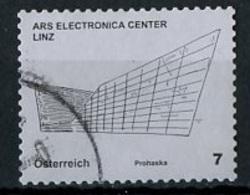 Autriche - Österreich - Austria 2011 Y&T N°2764 - Michel N°2924 (o) - 7c Ars Electronica Center - 1945-.... 2. Republik