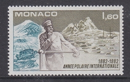 Monaco 1982 Annee Polaire Internationale 1v ** Mnh (41468) - Postzegels