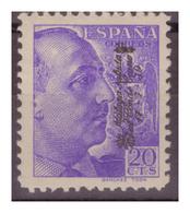SPAGNA - 1939 - EMISSIONI NAZIONALISTE. MALAGA. VISITA DEL CONTE CIANO. LEGGERA MANCANZA DI GOMMA . - MNH** - Emissions Nationalistes