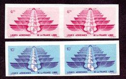 Levant PA N°5,6 Paires ND  N* TB  Cote 370 Euros !!!RARE - Levant (1885-1946)